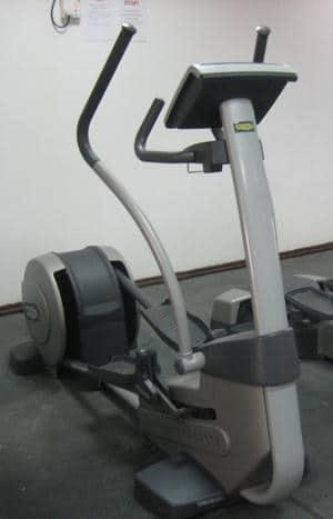 elliptical at the gym
