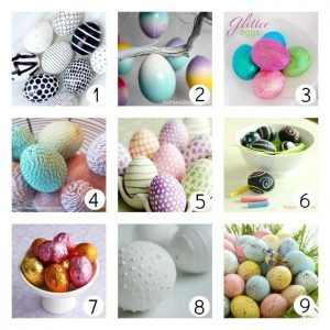 Different Egg Decorating Techniques from UCreate