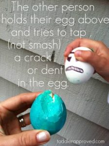 Egg Wars from Toddler Approved