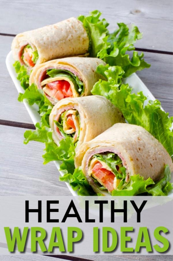 Lunch All Wrapped Up (Healthy Wrap Ideas) via @wondermomwannab