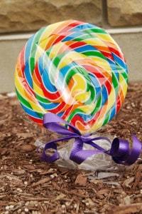 Magic Jellybean Lollipop from See Jane Blog