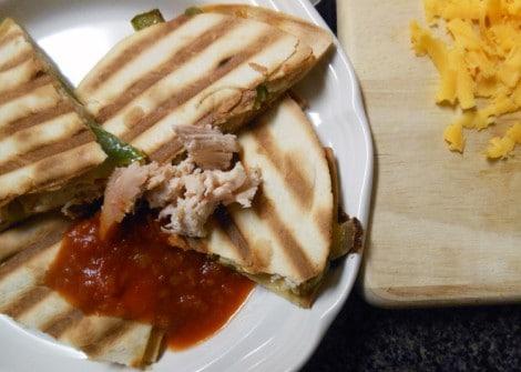 Chicken Quesadilla from Fancy Fork