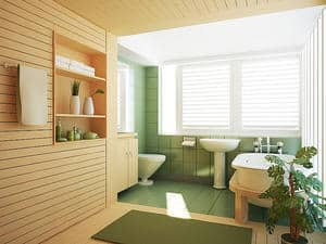 Spring Clean Bathroom