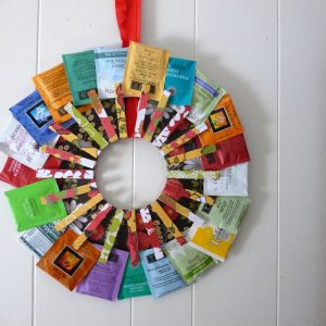 Clothespin Wreath from Kojo Designs