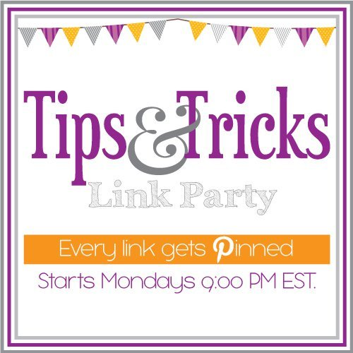 Tips & Tricks Link Party
