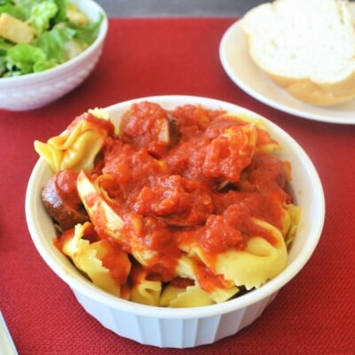 Easy Tortellini Dinner