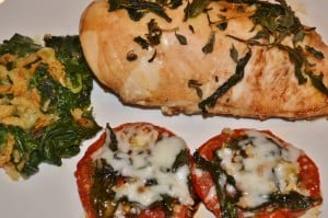 Baail & Thyme Chicken and Tomatoes