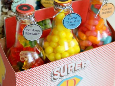 Father's Day Pop Box Set. bottles full of different candy