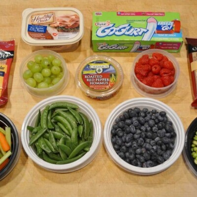 snacks for packing in the cooler