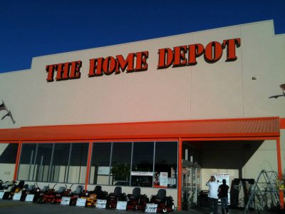 hope depot front of store