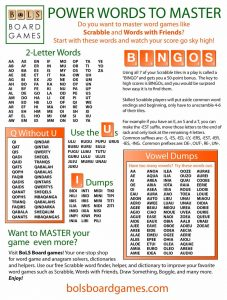 How To Dominate At Word Games