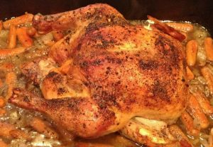 Easy, Delicious Roasted Chicken