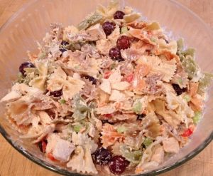 Delicious Chicken Pasta Salad