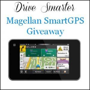 Drive Smarter Magellan SmartGPS Giveaway