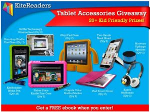 KiteReaders Tablet Accessories Giveaway
