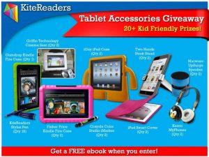 KiteReaders Tablet Accessories Giveaway