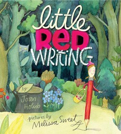 Little red writing book cover