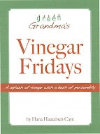 Vinegar Fridays — Review and Giveaway