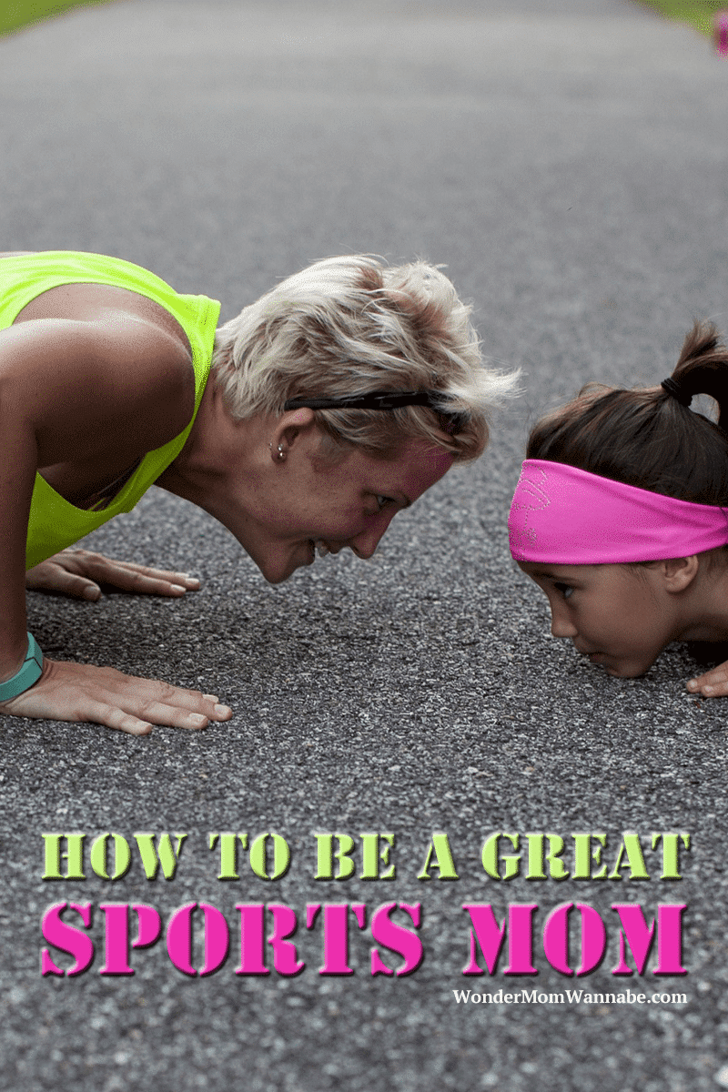 Practical, easy to follow advice on how to be a great sports mom so you can give your child the support he or she needs without putting too much pressure on your child.