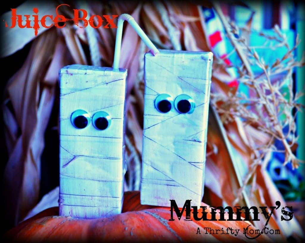 Juice Box Mummies