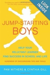 Jump-starting boys book cover