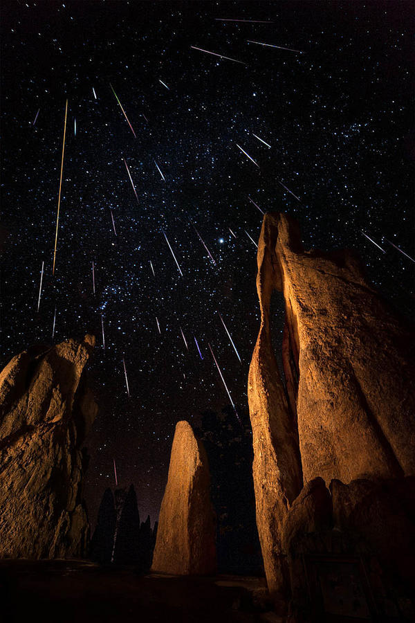 Geminids Eye of the Needle