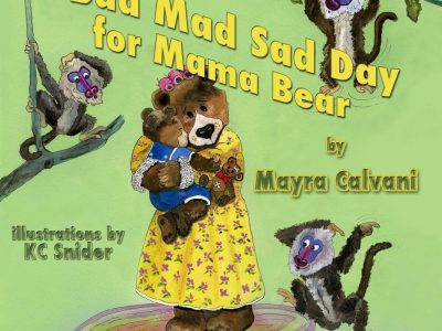 A Bad Mad Sad Day for Mama Bear book cover