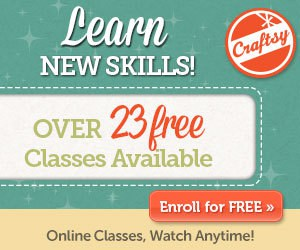 Craftsy ad for classes