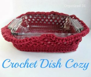 Organized 31 Crochet Dish Cozy