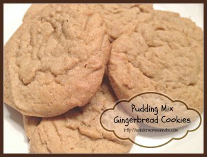 Pudding Mix Gingerbread Cookies (and More Cookie Recipes!)