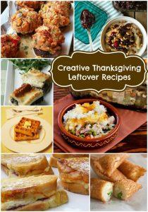Creative Thanksgiving Leftover Recipes