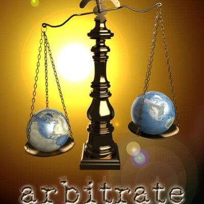 Arbitrate book cover