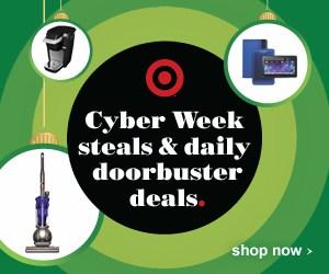 Cyber week Target ad
