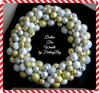 Dollar Tree Wreath