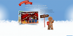 Create A Unique Holiday Card With Lego Minifigure Family
