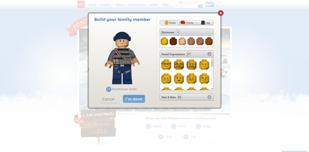 LEGO Minifigure Customization