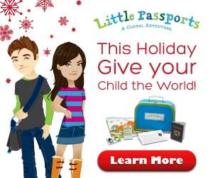 Little Passports holiday ad