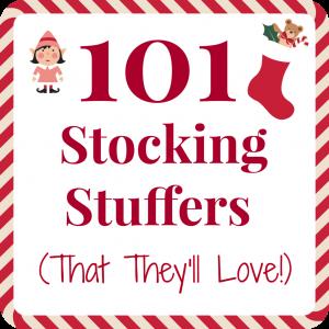101 Affordable and Enjoyable Stocking Stuffer Ideas