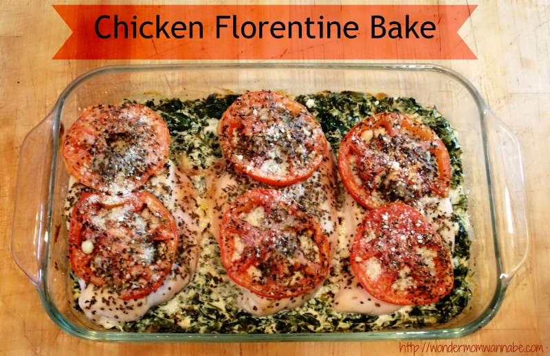 Chicken Florentine Bake