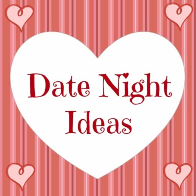 Sign that says date night ideas