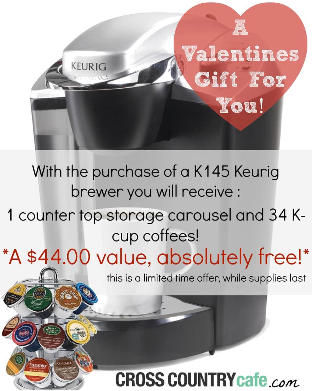 Keurig K-cup Valentines Day Sale
