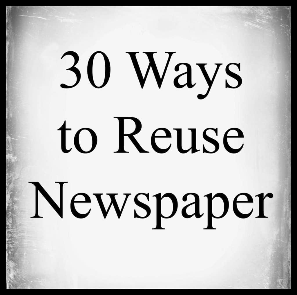 Newspaper Uses