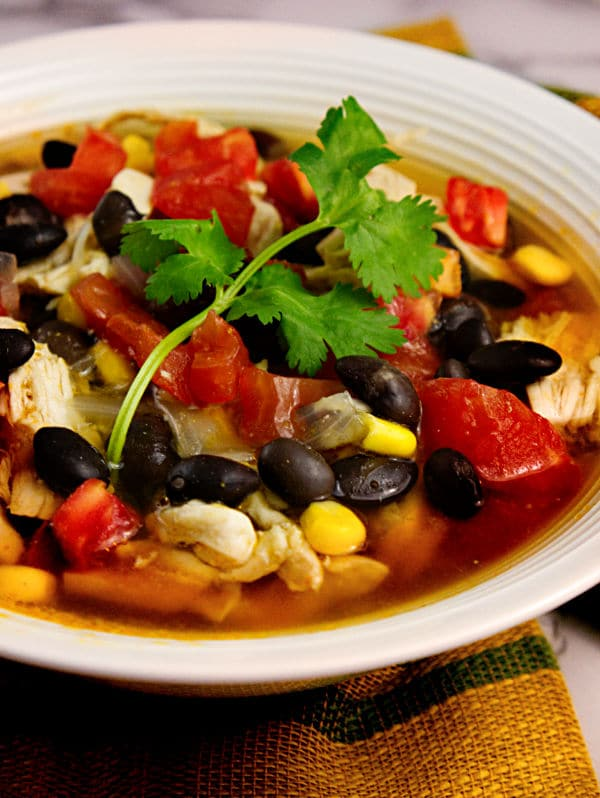 The Best Tex Mex Chicken Soup You'll Ever Eat