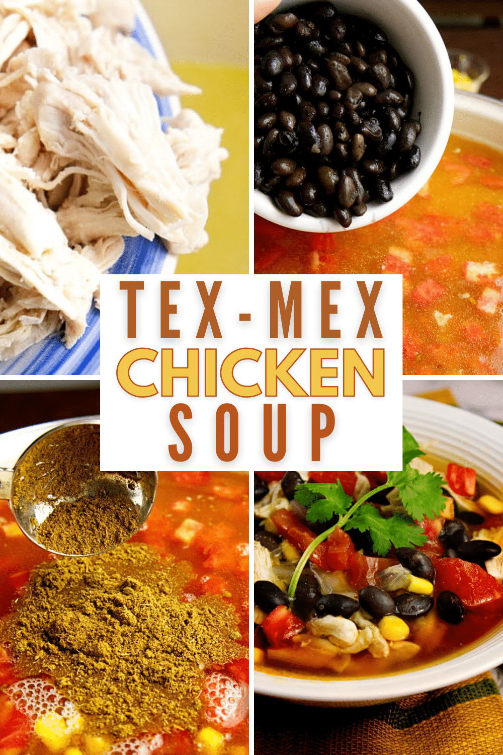 If you like Tex Mex flavors you are going to love this soup! It's full of your favorite flavors that are made even better with a secret ingredient. #texmex #soup #recipes via @wondermomwannab