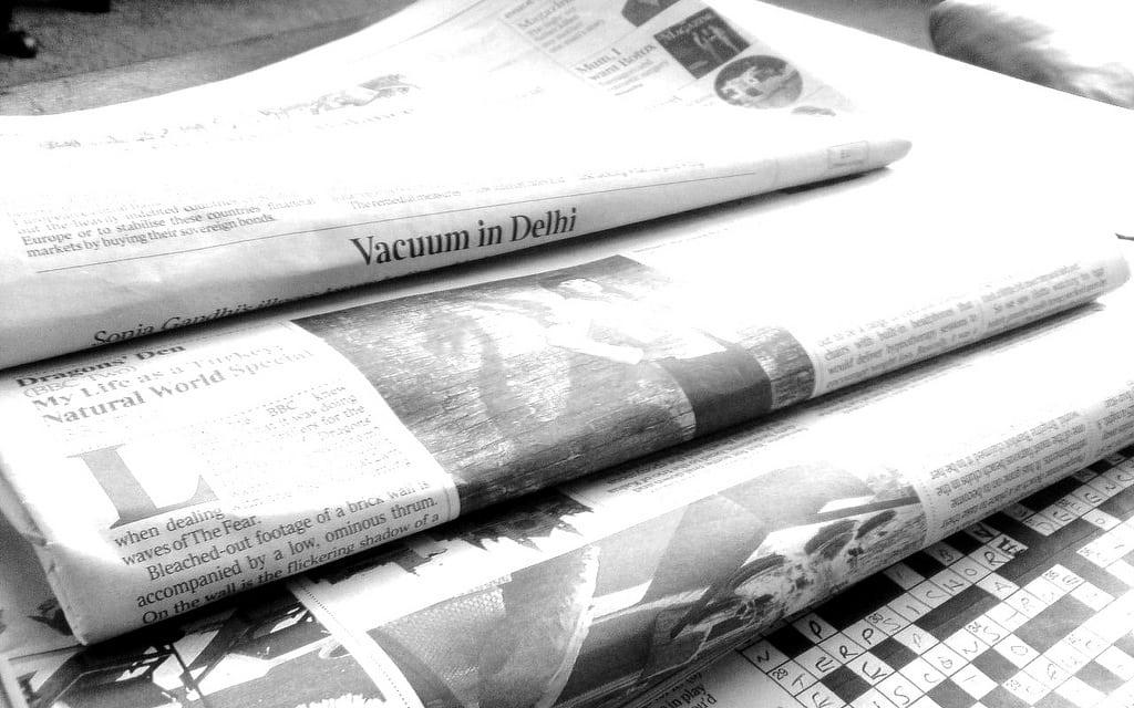 Newspapers B&W (1)