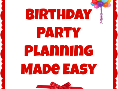 """""""Birthday party planning made easy"""""""