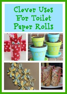 Creative Uses For Toilet Paper Rolls