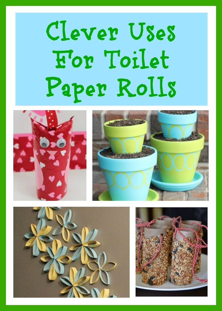 Since you're already recycling, why not start repurposing items you normally would've discarded? There are lots of crafts to make using toilet paper tubes! #crafts #DIY #recycle #repurpose #toiletpapertubes via @wondermomwannab