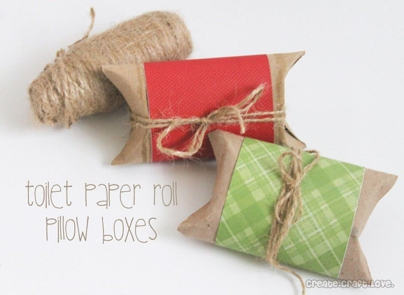 TP Roll Pillow Boxes
