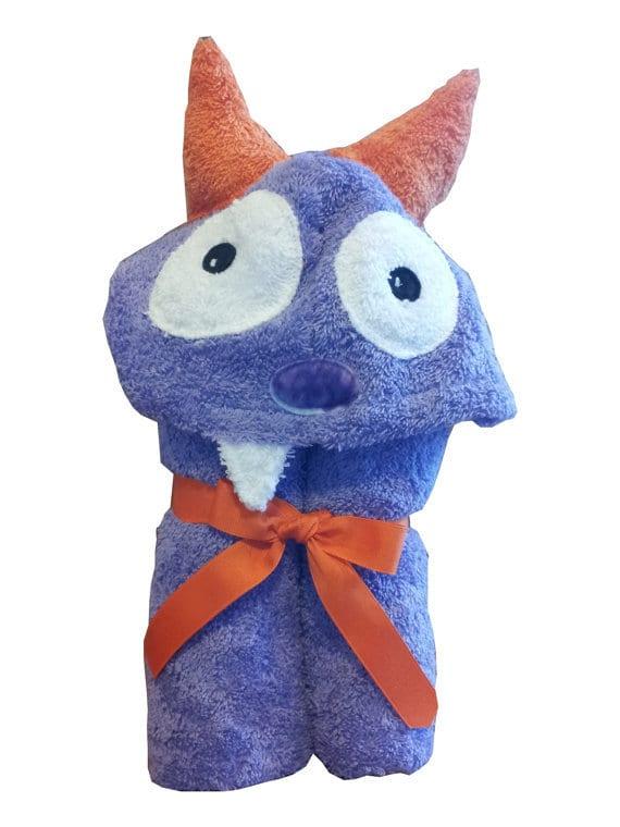Yikes Twins Purple Monster Towel